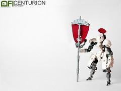 Centurion Hardsuit (Dead Frog inc.) Tags: lego roman centurion drone hardsuit warframe