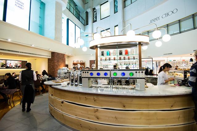 台北 大安–UCC海外旗艦咖啡館–COFFEE LOVER's PLANET