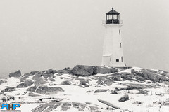 Peggys Cove Lighthouse Snow Storm 6 (Rodney Hickey Photography) Tags: ocean sea lighthouse snow canada storm weather photoshop landscape bedford nikon novascotia cove ns atlantic adobe portraiture nikkor halifax peggys peggyscove dartmouth sackville lightroom adobecs nikkorlens rhp lowersackville d610 adobecreativesuite d7100 middlesackville rodneyhickey rodneyhickeyphotographyanddesign rodneyhickeyphotography wwwrodneyhickeyphotographyca httpwwwrodneyhickeyphotographyca