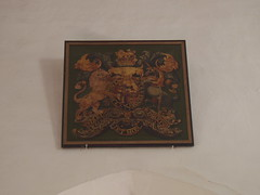Royal Arms, Pebworth (Aidan McRae Thomson) Tags: church painting worcestershire royalarms pebworth