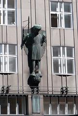 Archangel Michael (quinet) Tags: vienna wien church austria michael sterreich kirche archangel vienne autriche erzengel archange 2013