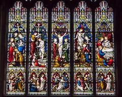 St Edward's Church, Cambridge (Ken Barley) Tags: cambridge church stainedglass georgegilbertscott stedwards