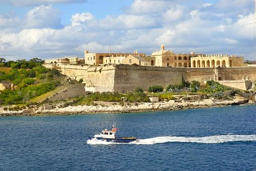Le port de Marsamxett (La Valette, Malte)