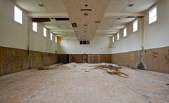 Slim Gym (jgurbisz) Tags: abandoned pennsylvania decay nj pa gym asylum vacantnewjerseycom jgurbisz embreevillestatehospital