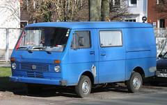 LT35 (Schwanzus_Longus) Tags: auto blue bus vw truck germany volkswagen outdoor german micro type vehicle bremen van bully camper combi department kombi lt transporter fahrzeug westfalia bulli neustadt typ type2 laster typ2 lt35