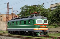 UZ ChS2-063, Mariupol, 2010/07/10. (lg-trains) Tags: trains ukraine ukrainian railways trainspotting skoda uz koda     chs2 2