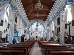 "San Cristóbal de las Casas: l'église Santa Lucia <a style=""margin-left:10px; font-size:0.8em;"" href=""http://www.flickr.com/photos/127723101@N04/25628691736/"" target=""_blank"">@flickr</a>"