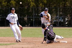 Holy Cross vs. Yale - Yale Baseball Home Opener - 3.19.16 (adcristal) Tags: sports field athletics university cross baseball connecticut ct ivy holy newhaven yale division ncaa bulldogs league holycross collegiate westhaven ivyleague yalefield yaleuniversity collegeoftheholycross i kenko14x nikon70200mmf28 nikond7000 kenkotelepluspro300dgx14x