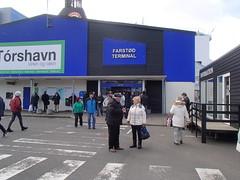P4070010 (dulamenn) Tags: port terminal faroeislands ferryterminal busterminal trshavn farstin