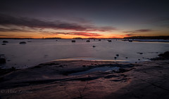 Twilight zone (Mika Laitinen) Tags: ocean longexposure sea seascape nature rock suomi finland twilight dusk wideangle balticsea fi helsingfors scandinavia nightfall vuosaari uusimaa kallvik tokina1116mm canon7dmarkii