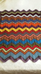 Stephanie Norris (The Crochet Crowd) Tags: game stitch right blanket afghan throw crochetblanket thecrochetcrowd stitchisright