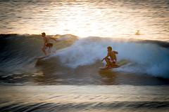 Sunset Surf (Envios) Tags: sunset surf maui boogieboard kaanapalibeach mauilife