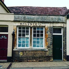 Maltster (The original SimonB) Tags: march suffolk sony burystedmunds ghostsign 2016 xperiaz5compact