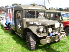 Dodge M43 B1 0.75t Ambulance 1965 (Zappadong) Tags: auto classic car army automobile military voiture ambulance coche classics dodge oldtimer oldie carshow armee b1 1965 militär bundeswehr youngtimer 2016 automobil m43 oldtimertreffen ellringen zappadong 075t