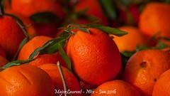 Nice - March-8 (majorlaurent) Tags: orange france fruit french nice market bokeh reflet cote march flou dazur bluured