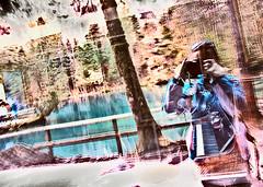 reality & illusion (Olia vk) Tags: mystery amazing magic mirrors illusion bluegreen deepwater experienceofillusion