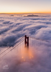 Golden Gate From Above (tobyharriman) Tags: pictures ocean sf sanfrancisco california above city travel art beautiful weather fog skyline architecture night sunrise canon landscape photography lights bay us flying october colorful artist cityscape photographer traffic unitedstates photos outdoor fineart scenic visit aerial adventure clear helicopter goldengatebridge commercial bayarea pacificnorthwest prints custom sausalito financial robinson marinheadlands attractions r22 2014 aerialphotographer sanfranciscophotography tobyharriman timelapsepictures commections