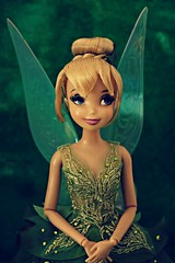 do you believe in fairies? (girl enchanted) Tags: film movie ds peterpan disney pixie fairy le animation collectible disneystore peterpandoll thinkdoll