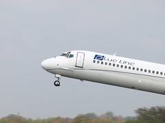 P4131567 (JoRoSm) Tags: man manchester airport blueline aviation landing planes takeoff spotting aeroplanes
