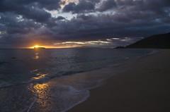 Sunset on Big Beach (EnviroTrekker) Tags: ocean sunset fall beach hawaii waves maui september makena bigbeach molokinicrater