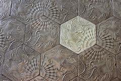 Floor tiles (Rainbowfish7) Tags: barcelona spain espana gaudi casamil lapedrera