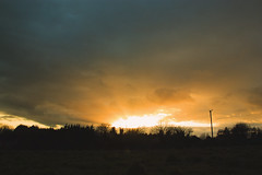 Golden April Sky (cofarrell25) Tags: ireland sunset sky cloud color colour nature beauty weather clouds skyscape landscape evening landscapes spring raw day colours natural background ngc sunsets landing favourites april cloudscape eveninglight planetearth meath welltaken springweather beautyearth earthcaptures