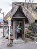 Gassho-zukuri phone booth (pennykaplan) Tags: leena gokayama