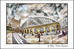 LIME STREET STATION. (Derek Hyamson) Tags: station liverpool candid hdr limestreet