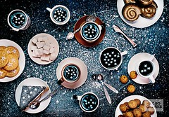Stargazers (Bring life to your space. Decor Products) Tags: reflection cup star space cream spoon stargazer spray sugar galaxy sweets roll biscuits astronomy universe astrology frosting teaspoon astronomer darkbackground sugartongs