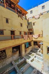 Curtidura de Fez (valentinasota) Tags: morocco maroc marruecos fes tanneries curtidura