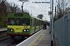 8118 arrives at Sandymount, 12/4/16 (hurricanemk1c) Tags: irish train siemens rail railway trains railways dart irishrail sandymount lhb 2016 iarnród 8118 éireann iarnródéireann class8100 1525brayhowth