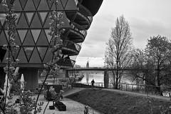vom Westhafen (tmertens0) Tags: city architecture am pentax frankfurt main 14 stadt architektur hafen smc westhafen habour 50m