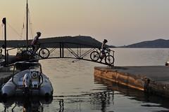 Betina Hafen und Bucht