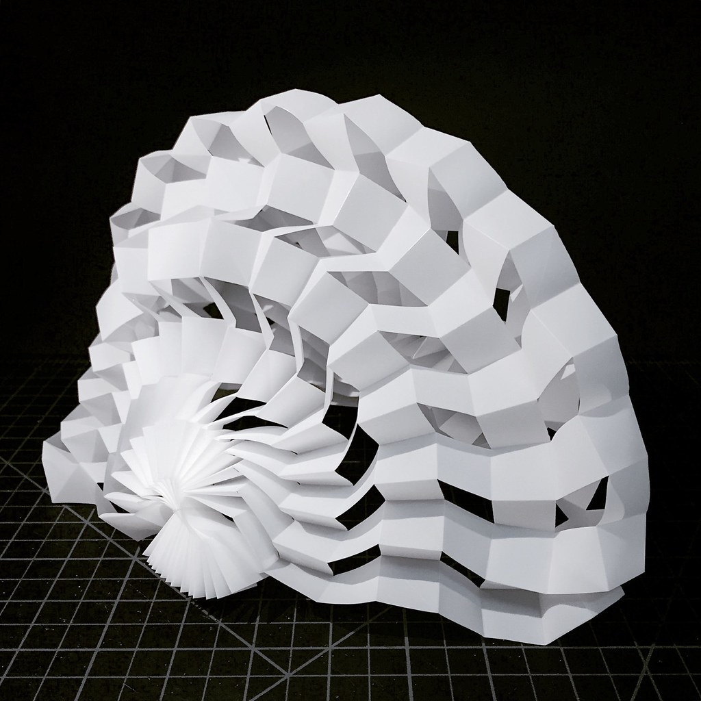Shell Structure Miketanis Tags Art Architecture Design Origami Kirigami Curved