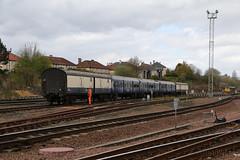 5X15 at Eastfield (Tug60044) Tags: camera sky train canon eos scotland flickr glasgow rail railway scotrail class works vehicle barrier network railways 73 shields 320 springburn tmd eastfield 70d 5x15 73968 320304