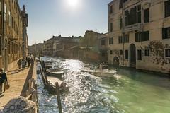 Venezia- against Sun! (aliffc3) Tags: italy sunlight canal backlit venezia sigma19f28 sonya6000