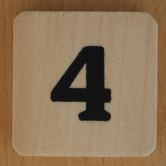 THE FIFTEEN PUZZLE number 4 (Leo Reynolds) Tags: xleol30x 4 four number xsquarex onedigit numberset grouponedigit canon eos 40d xx2016xx
