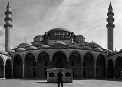 Suleymaniye Mosque (MrtBzts) Tags: nikon turkiye sigma istanbul mosque bnw panaroma suleymaniye d7200