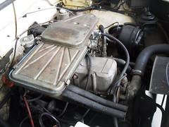 Engine of the 1964 Hillman Super Minx Automatic (Nicholas1963) Tags: club utrecht nederland rob rootes arijansen