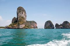 Railay | Turtle Island (Caroline Groneberg) Tags: thailand meer insel krabi turtleisland felsen railay