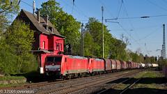 A pair of 189s to Kijfhoek at Lintorf (37001 overseas) Tags: ez oberhausen ratingen emmerich gremberg kijfhoek 45722 lintorf 189028 189027 ratingenlintorf ez45722