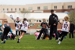 Mayla 5/6 Black vs Grand Rapids (kaiakegleysportsmom) Tags: spring minneapolis girlpower lacrosse 56 2016 mayla blackteam vsgrandrapids mayla5626 mayla5662