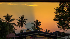A View From My Balcony (athulsudheesh) Tags: summer evening dusk kerala colorsofnature
