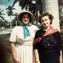 grandmom & lucy - 1962 (Doctor Casino) Tags: florida florentine biscaynebay northbayvillage lucymiller evelynjudygodelgirth