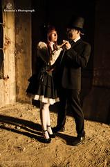 Ottavia Serafini 2014 (Ottavia Serafini) Tags: boy man girl nikon couple cosplay lolita loli cosplayer gentleman ragazza coppia ragazzo cilindro nikond5100