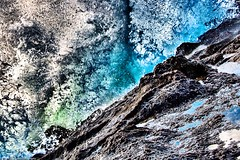 Wave impact (erezashkenazi) Tags: ocean blue sea seascape color beach nature water landscape aqua waves wave impact moment splash splashing