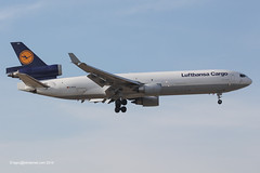 D-ALCS - 1994 build McDonnell Douglas MD11F, withdrawn from use & ferried to Victorville, CA for storage in January 2015 (egcc) Tags: frankfurt main cargo lh douglas lufthansa fra freighter md11 gec mcdonnelldouglas md11f eddf 567 lufthansacargo 48630 dalcs idupd n630lt