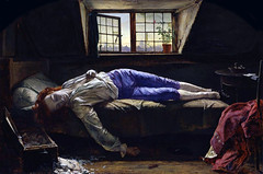 Wallis, Chatterton (detail), 1856