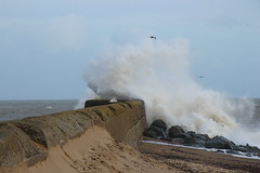 Stormy Weather (Colin Kavanagh) Tags: ireland sea seascape storm water pier waves power wicklow arklow
