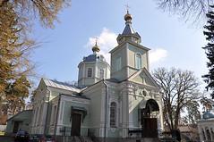 Храм в честь прп.Серафима Саровского в Пуще-Водице